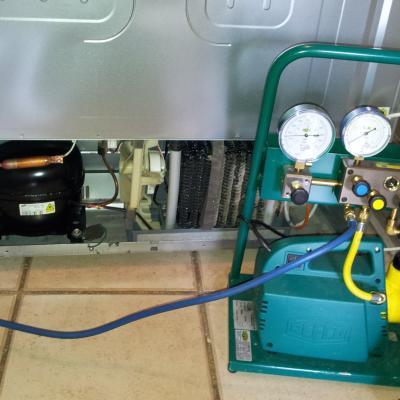 08 Tirage au vide du circuit frigorifique